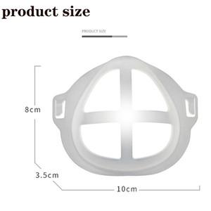 Maske tutucu destek çerçevesi 3D üç boyutlu obje nefes maskesi tutucu iç yüzey, anti-delme aparatı PE yeniden yıkanabilir kadın