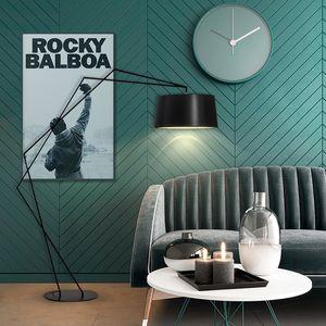 Modern Metal Floor Lamp Restaurant Bar Villa Home Living Room Reading Bedroom Beside Standing Light FA181
