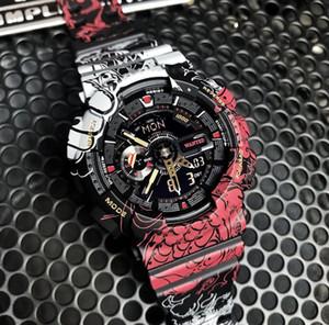 2020 G New Designer Automatique Montres Homme One Piece Limited Edition Montres de Luxe Shock Mens Homme Montres-bracelets Amary Heure cadeau Horloge Saat