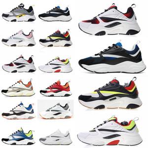 B22 Sneaker Erkek Tasarımcı Ayakkabı bağbozumu Sneakers Tuval Ve Dana derisi Eğitmenler Lüks Unisex Düşük En Casual Ayakkabı 20color Büyük boy 35-4 X3eu #