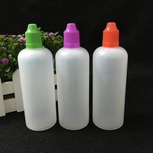 Hot Sale 1350pcs PE 120ml Dropper Bottles with Child Proof Bottle caps and Needle Tips E liquid plastic bottle