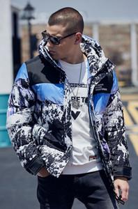 2020s mens winter coat men's large size fall mens tracksuit new loose simple embroidered denim jacket plus fat plus men's fashion jacket
