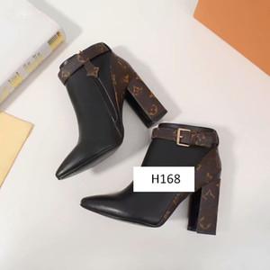 2020 zapatos para mujer de las botas del tobillo matchmake BAJA arranque de moda de las mujeres de arranque botines 1A5LML mujeres del cuero Botas