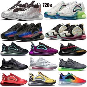 spirit teal 2019 Be True Triple Black Neon Streaks Sunset Northern Lights Night TPU Zapatillas deportivas para correr Hombres Mujeres Zapatos de diseñador