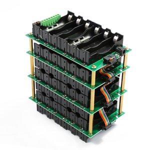 Günstige Aufbewahrungsboxen Power Bank 12V Pack Lithium Batteriekofferbilanzschaltungen 40A 80A BMS 3S Power Wall 18650 Batterie