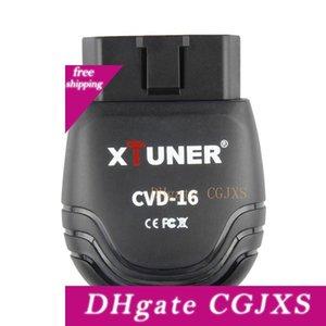 12v / 24v veicolo d'esplorazione Obd2 Xtuner Cvd -16 Strumento diagnostico Bluetooth Android Scanner per Heavy Duty Truck dell'automobile OBD 2 scanner