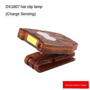 m1DAJ Ermeng HeadLight 1807 USB зарядка индукции Ermang инфракрасный инфракрасный USB 1807 зарядки фары головкой клип рыболовный лампа ФИС hixqQ