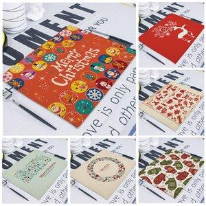 Motif Décoration de Noël Table Mat Nouveau Creative Noël Tableau neige langes pour Accessoires de table de mariage Cuisine Décor Set de table