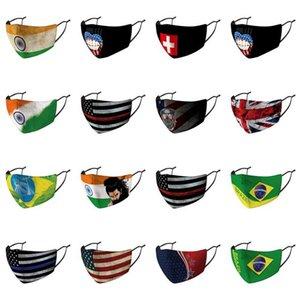 Маски Страны Arab Arab Австралия Скидка Ткань Индивидуально Маска Хлопок Грот Страна Великобритания Флаги Упакованного Обложка United Нос bHOhp