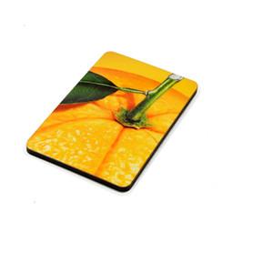 7*5*0.4cm MDF Wood Fridge Magnets Sublimation Blanks Stickers Customized Wooden Refrigerator Magnet Fridge Magnets