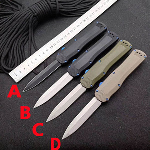 Bench BM 3400 double action tactical automatic knife BM 3300 3310 3350 940 535 hunting self defense pocket knife micro ut85 combat Trood