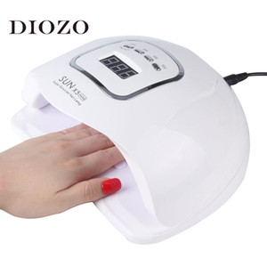 150W Uv Led Nail Lamp Nail Dryer Manicure Lamp For Nails Gel Polish Drying Auto Sensor Manicure Tools