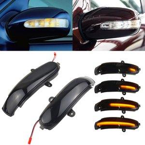 메르세데스 벤츠 C 클래스 W203 S203 CL203 2,001에서 2,007 사이 동적 돌려 신호등 LED 사이드 미러 순차 표시 깜박이 램프