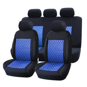 مقعد العلامة التجارية التطريز غطاء السيارة مجموعة يونيفرسال صالح متوافق مع معظم سيارة المعينية ساحة السيارات-التصميم على مقعد السيارة حامي