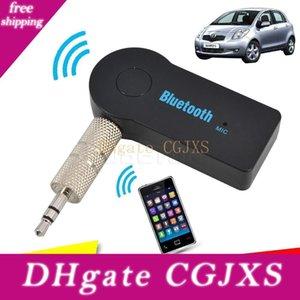 Universale kit vivavoce per auto Bluetooth Receiver 3 0,5 millimetri streaming audio stereo di musica mano altoparlante cuffie libero per