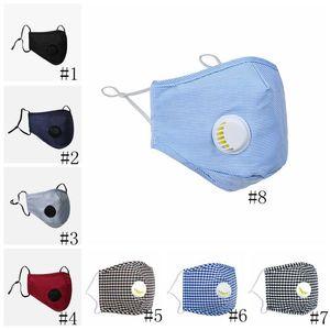 Mascarillas con filtros anti-polvo PM2.5 11style máscara con la máscara de respiración válvula ajustable de la boca de los niños de Protección al Adulto Máscara GGA3302