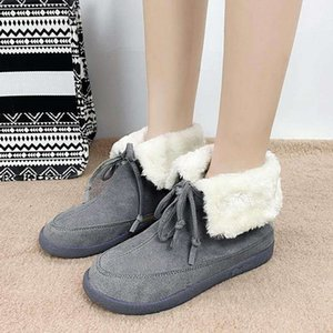 Women Boots Waterproof Winter Shoes Women Snow Boots Platform Keep Warm Ankle Winter 2020 With Thick Fur Heels Botas Mujer