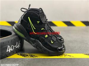 Nike Air More Uptempo 96 QS 2020 New 96 QS Olímpico Varsity Maroon Mais Shoes Mens Basketball 3M Scottie Pippen uptempo Chicago treinadores desportivos Sneakers Tamanho 13