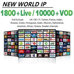 برنامج TV 10000LIVE VOD M 3 U Android Smart TV فرنسا Usa Canada Néerlandais Turquie Pays-Bas Australi Allemagne Espagne