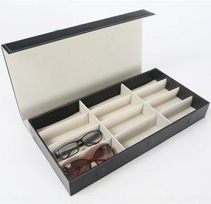 Aufbewahrungsbox 12 Box / Sonnenbrillen Fall Sonnen Fall Anzeigebox / Brille Sammelgitter / sun box / Glaskasten OGUx6