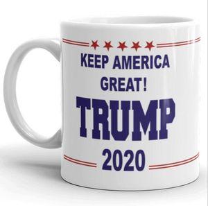 القهوة الأقداح مضحك العظمى دونالد ترامب مقبض رسائل السيراميك فنجان القهوة حليب الشاي القدح DRINKWARE ليوم والد عيد الميلاد هدية أكواب AHD775