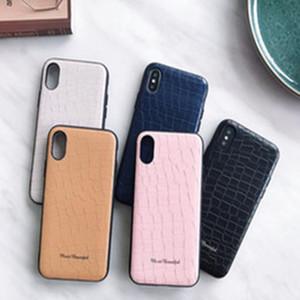 Iphone X Beş Renkler İsteğe için iPhone 6 6S 6Plus 7 7Plus 8 8plus Üst Kalite Davası için PU Deri Kılıf Taş Desen Kapak