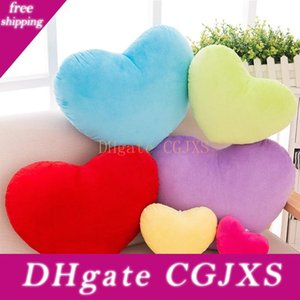 15cm Heart Shape Decorative Throw Pillow Pp Cotton Soft Creative Doll Lover Gift