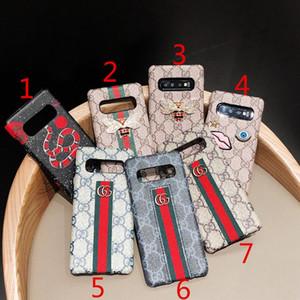 Samsung S8 S8plus S9 S9plus Note8 Note9 Note10Plus S10 S10plus S10e sert arka kapak için Marka tasarım arı gözü yılan cep telefonu kılıfı