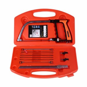 12 PCS 1 Set x Hand Saw Kit with Red Black Box Portable Steel Saw Set For construction, handicraft, pruning tree, hiking,fishing