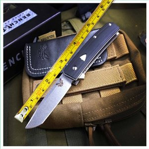 Benchmade spéciale BM 601 Camping Chasse Couteau-cadeau sauvage Couteau de paquets BM41 BM42 BM43 BM46 BM47 BM49 BM49
