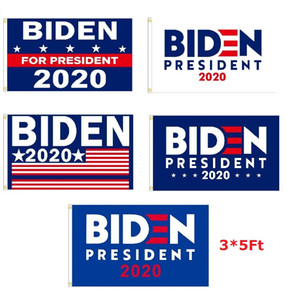 1000Pcs 2020 BIDEN President flags Banners USA Presidential Election Flags Donald Trump Flag Keep America Great 3x5Ft