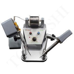 Spot welding soldering machine temperature adjustable electric iron soldering station