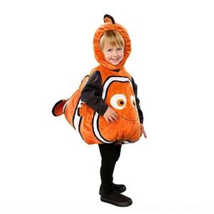 Ld7rb Очень мило обслуживание рыб NEMO детского ребенок ролевой одежды с его клоуном пожимая Play, когда служба игры хвост ходьбы