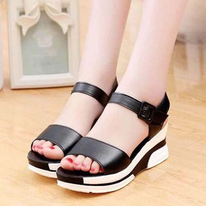 zapatos de las mujeres sandalias de tacón Mejor Calidad Alta deslizadores de las sandalias huaraches flip flop de zapatos de los holgazanes Para zapatilla shoe10 PL301