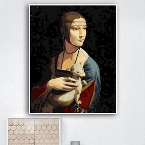 Yijie DIY Pintura By Numbers Pablo Picasso desenho sobre tela pintado à mão pintura presente Art DIY Decoração