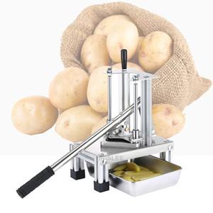 Venda vertical cortador de batata a pressão da mão para Fries pepino máquina de corte do cortador de batata fritas tiras de batata manual da máquina de corte