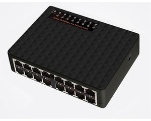 50pcs 16 Ports 10 100Mbps Network Switch Fast Ethernet Vlan Hub Desktop PC Switcher