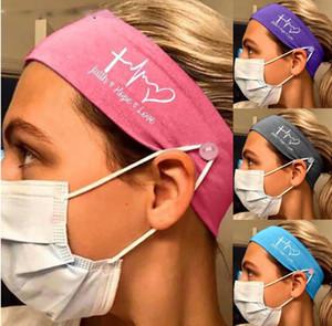 Bouton lait soie Bandeaux Yoga Casual Nurse Fitness Masque multi-Foulard fonctionnel Bouche Protection extérieure visage élastique Sport Hairba LNDC