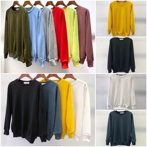 En Satıcı Moda Sonbahar Kış Erkek 108 Uzun Kollu Hoodie Hip Hop Tişörtü Coat Casual Giyim Triko S-2XL # 811 # 8104