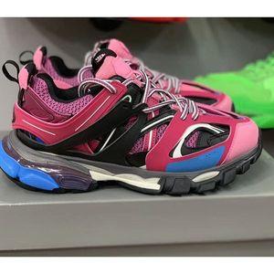 2020 New 3M Triple S Track 3.0 Chaussures de course Release 3 Tess Gomma Jogging Chaussures Sport Maillé Sneaker 35-45 x04