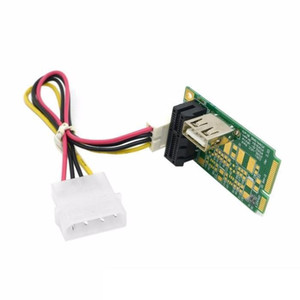 Mini PCI-E to PCI-E x1 pci Express 1X Extension Cord mini pcie to pcie Adapter Card with USB 2.0 Riser Card