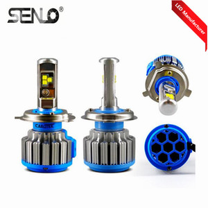 New T1 LED Headlight Bulb High Quality 2020 H4 H7 9005 9006 H8 H11 With Canbus Auto Lighting System 70w 6000k 12v Car Headlights