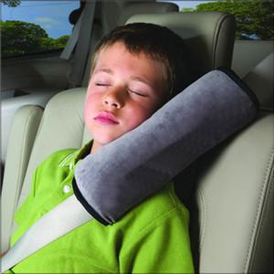 2020 asiento de seguridad infantil de la correa de hombro de la correa del cojín Cojines Cabeza Soporta anti-derrame cerebral sencilla cinturones de seguridad hombrera cubierta protectora