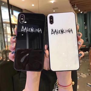Vidrio templado espejo del teléfono celular caso del iPhone para el 11 Pro Max X 10 XS XR XSMAX 2020 NUEVA manera al por mayor para el iPhone 6 7 8 6S Plus