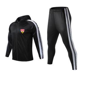 VfB Stuttgart Football Club de sport de course pour homme Survêtements Hot Loisirs Sports de plein air Vêtements de football longue Sets manches pour unisexe