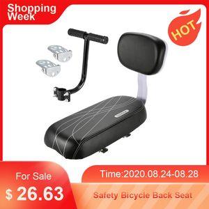 Sırt bölümü Sap Kolçak Footrest 3pcs / set Çocuk Güvenliği Bisiklet Arka Koltuk Bebek Eyer Arka Pedallı Bisiklet Arka Koltuk
