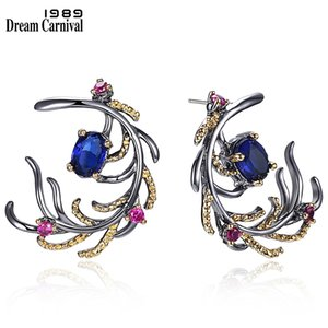 DreamCarnival1989 New Arrivals Feather Look Elegant Drop Earrings for Women Must Have Hot Selling Special Fashion Jewelry WE3856 CX200707