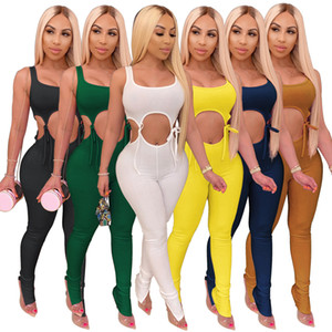 Women Fashion Clothing Spring And Summer Women's High Elastic Lace-up Tight Sexy Fashion Suit The New Listing