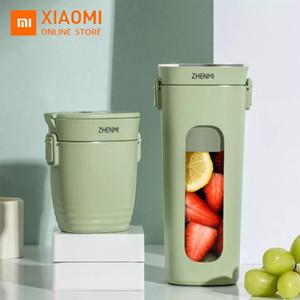 Xiaomi ZHENMI Mini Quick Juice Wireless Vacuum Portable Juicer Cup 28s Blender USB Charging 4 Leaf Steel Knife