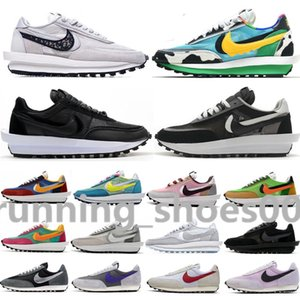 Nike sacai Ldv Dior B23 oblique Wholesale Waffle Ldv Dio Chunky Dunky Nylon White Black NYC Pigeon Women Mens Running Shoes Undercover Daybreak Sports Trainers Sneakers JJ